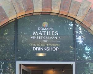 lettrage – Domaine Mathes