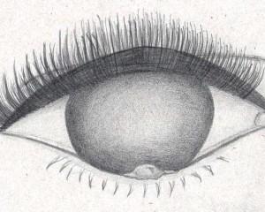 crayon – oeil