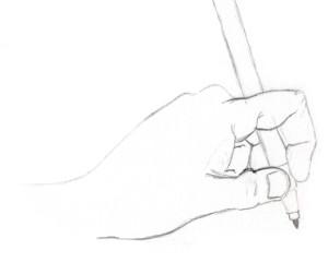 croquis – main